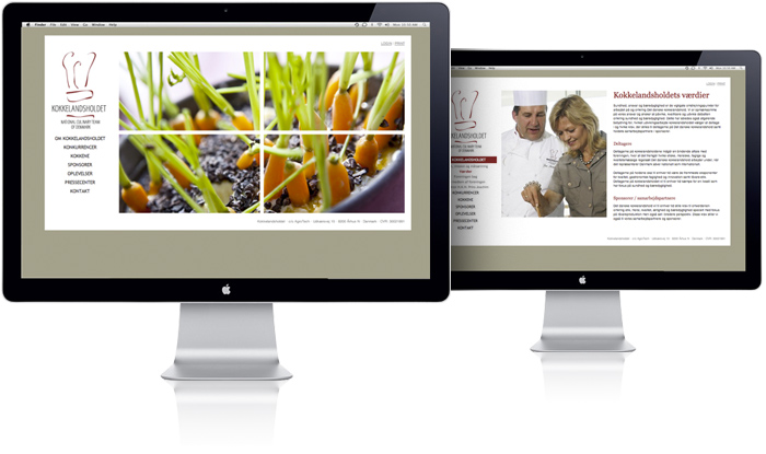 National Culinary Team of Denmark Website by Robert Thomsen