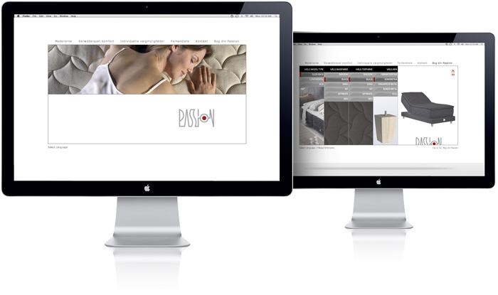 Passion Beds - Website by Robert Thomsen