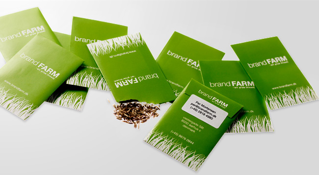brandFARM Advertising Agency Business Cards by Robert Thomsen