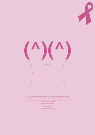 Breast Cancer Ad - Cold Breasts by Robert Thomsen