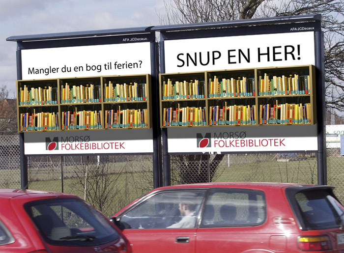 Morsø Folkebibliotek Billboard by Robert Thomsen