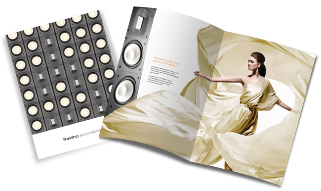 Raidho Acoustics - Brochure by Robert Thomsen