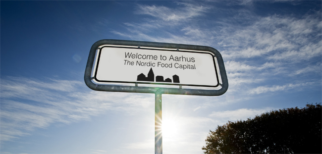 Taste Aarhus - Outdoor - Road Sign by Robert Thomsen