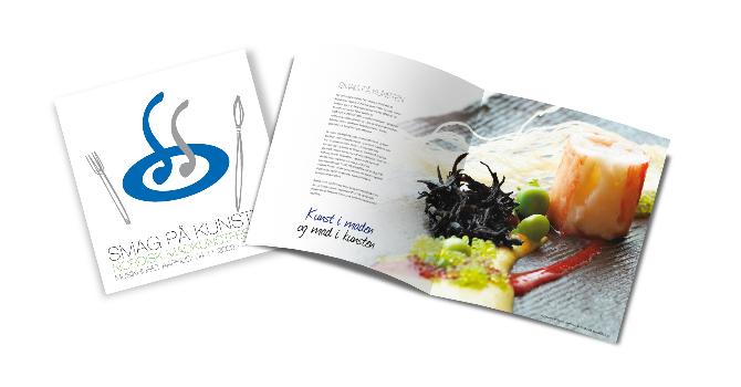 Taste the Art - Nordic Food Festival - POS Material by Robert Thomsen